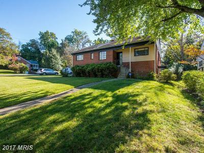 Washington Single Family Home For Sale: 7225 Western Avenue NW