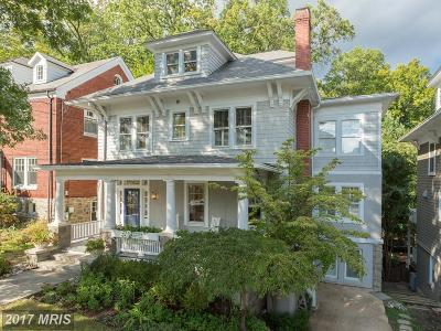 Washington DC Single Family Home For Sale: $2,700,000