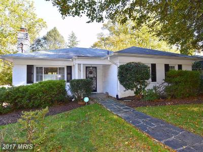 Colonial Village Single Family Home For Sale: 2225 Sudbury Road NW