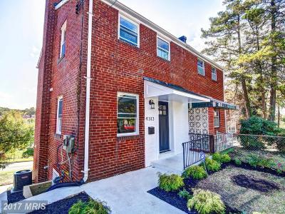 Washington Duplex For Sale: 4313 Gorman Terrace SE
