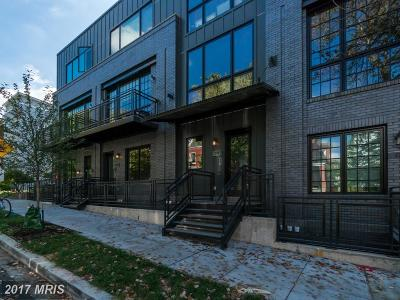 Columbia Heights Duplex For Sale: 770 Girard Street NW #5E