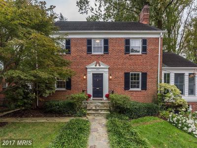 Washington DC Single Family Home For Sale: $1,790,000