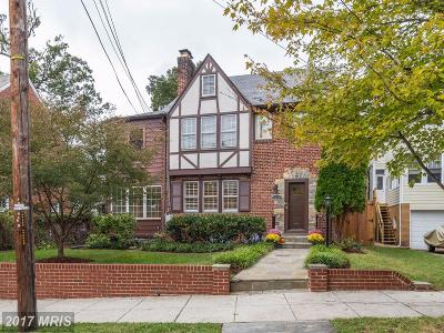 Washington Single Family Home For Sale: 4120 17th Street NW