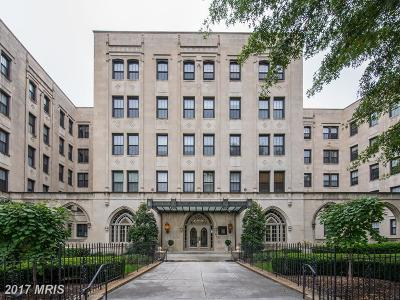 Washington Condo For Sale: 1613 Harvard Street NW #107