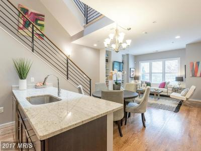 Washington Townhouse For Sale: 1423 1st Street NW #A