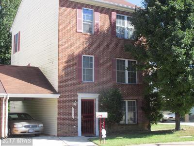 Washington DC Townhouse For Sale: $315,300