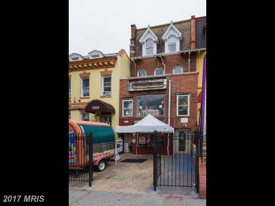 Washington Townhouse For Sale: 3533 14th Street NW
