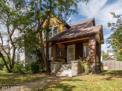 Single Family Home For Sale: 1337 Jefferson Street NW