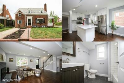 Brookland Single Family Home For Sale: 1323 Webster Street NE