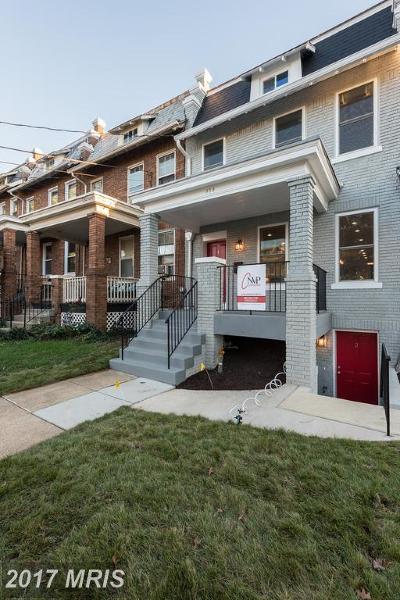 Washington Condo For Sale: 414 Varnum Street NW #2