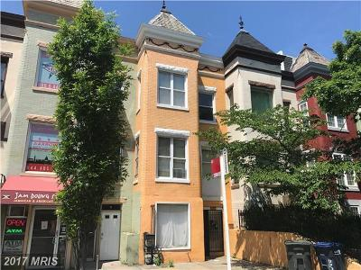 Washington Multi Family Home For Sale: 1728 Capitol Street NW