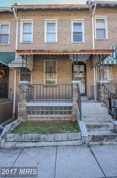 Columbia Heights Townhouse For Sale: 634 Otis Place NW