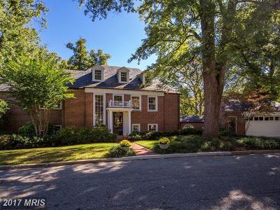 Washington Single Family Home For Sale: 5126 Palisade Lane NW