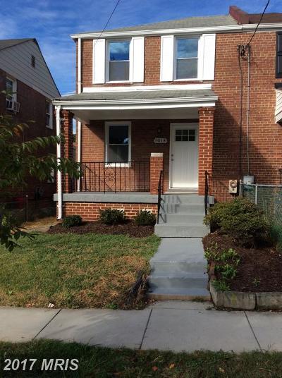 Washington DC Duplex For Sale: $489,500
