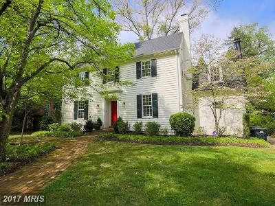Washington Single Family Home For Sale: 2007 Plymouth Street NW