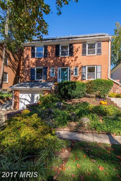 Washington Single Family Home For Sale: 4815 V Street NW