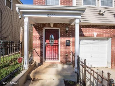 Washington Single Family Home For Sale: 5328 Gay Street NE