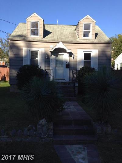 Washington Single Family Home For Sale: 4312 Burns Street SE