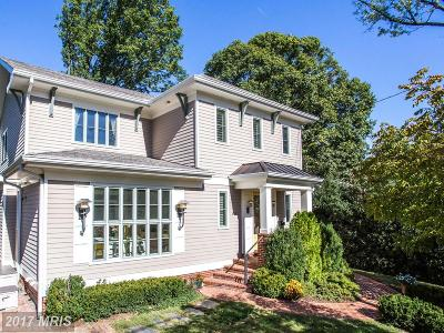 Washington Single Family Home For Sale: 4511 Q Place NW