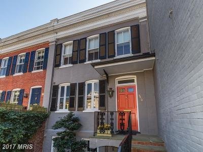Washington Townhouse For Sale: 3416 Prospect Street NW