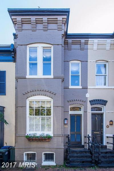 Washington Townhouse For Sale: 3420 N Street NW