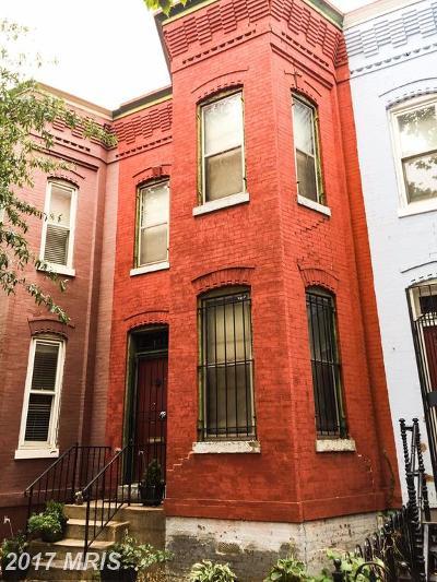 Washington Townhouse For Sale: 1229 W Street NW