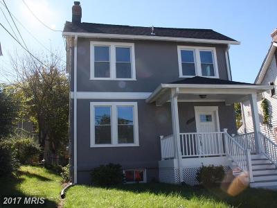 Washington Single Family Home For Sale: 3805 Blaine Street NE