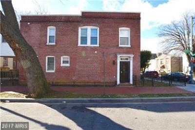 Washington Single Family Home For Sale: 1201 Morse Street NE