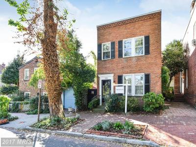 Georgetown Single Family Home For Sale: 1304 27th Street NW