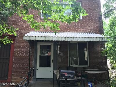 Washington DC Single Family Home For Sale: $199,000