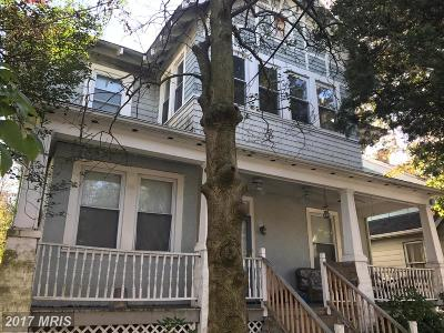 Washington Single Family Home For Sale: 2509 Rhode Island Avenue NE