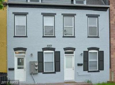 Eckington Duplex For Sale: 2007 4th Street NE