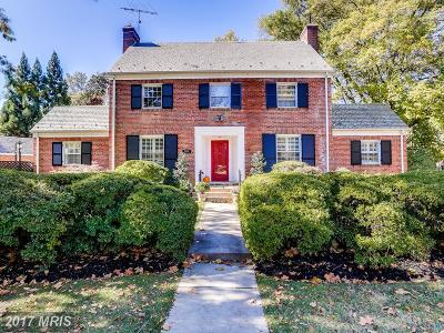 Chevy Chase Single Family Home For Sale: 6114 Nevada Avenue NW