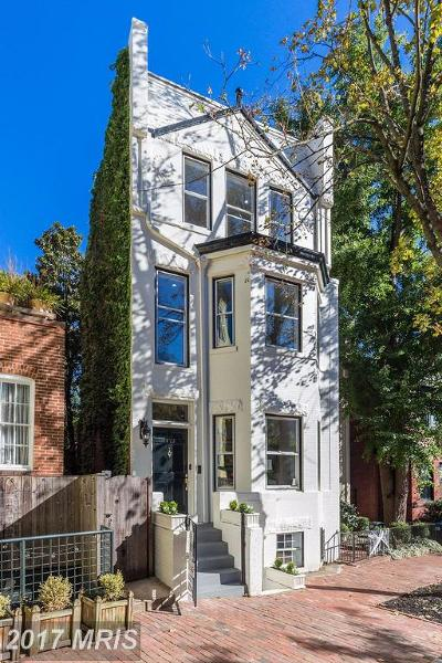 Georgetown Single Family Home For Sale: 1527 31st Street NW