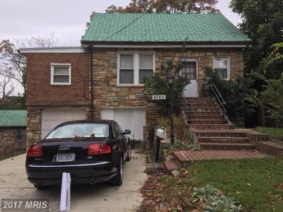 Washington Single Family Home For Sale: 3146 Westover Drive SE