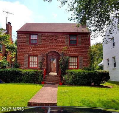 Michigan Park Single Family Home For Sale: 4852 Queens Chapel Terrace NE
