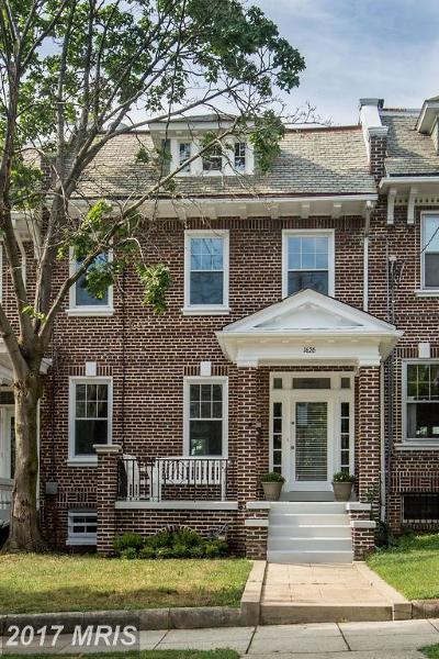 Condo For Sale: 1626 Webster Street NW