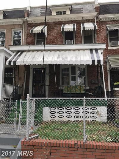 Washington Condo For Sale: 511 Longfellow Street NW