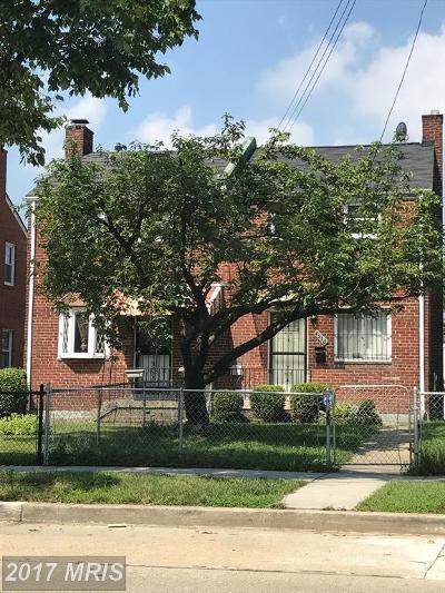 Washington Duplex For Sale: 4550 Texas Avenue SE