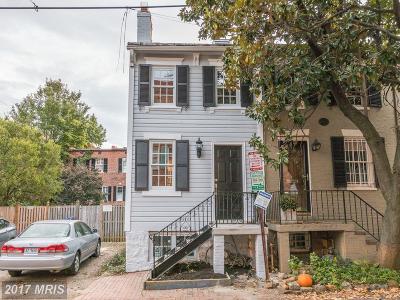 Georgetown Townhouse For Sale: 2710 Poplar Street NW