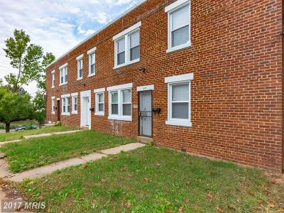Washington Multi Family Home For Sale: 4986 Benning Road SE