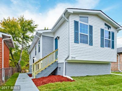 Washington Single Family Home For Sale: 5040 Lee Street NE