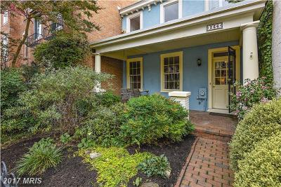 Washington DC Single Family Home For Sale: $985,000