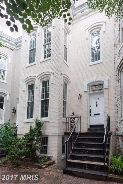 Washington Condo For Sale: 1414 30th Street NW