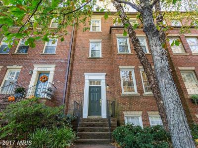 Washington Townhouse For Sale: 3628 Reservoir Road NW