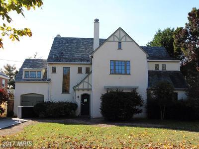Single Family Home For Sale: 3060 Ellicott Street NW