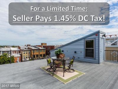 Washington Condo For Sale: 1333 Euclid Street NW #PH-3