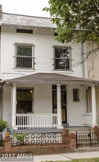 Washington Condo For Sale: 512 Columbia Road NW
