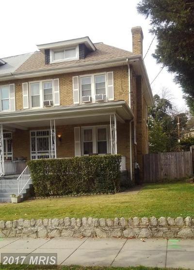 Washington Condo For Sale: 5006 Arkansas Avenue NW