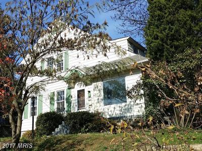 Washington DC Single Family Home For Sale: $995,000